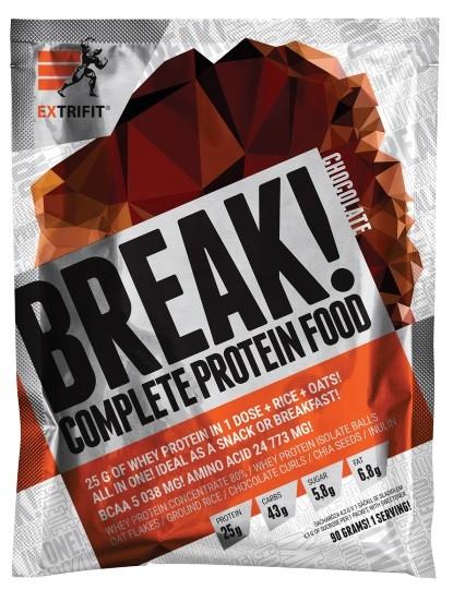 EXTRIFIT Break! Complete Protein Food 90 g kokos 90 g