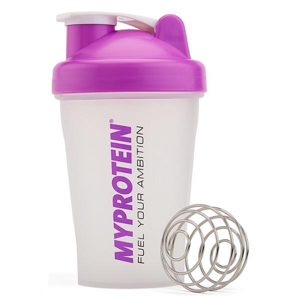 MYPROTEIN Shaker s pružinou fialový 400 ml