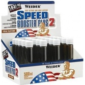 WEIDER Speed Booster Plus 2 / 1x25ml ampula