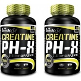BIOTECH Creatine pH-X 90 kaps + 90 kaps