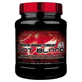 SCITEC NUTRITION Hot Blood 3.0 820 g