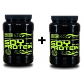 BEST NUTRITION Soy Protein Isolate 1000 g + 1000 g
