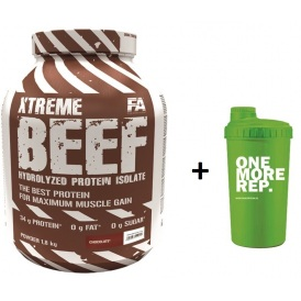 FITNESS AUTHORITY XTREME BEEF PROTEIN 1800 g + 700 ml shaker zadarmo