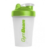 GYM BEAM Šejker Blender Bottle priesvitno-zelený 400 ml