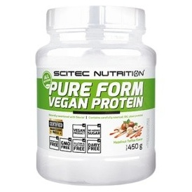 SCITEC NUTRITION Pure Form Vegan Protein 450 g