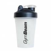 GYM BEAM Šejker Blender Bottle priesvitno-čierny 400 ml