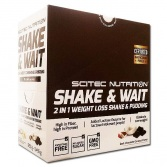 SCITEC NUTRITION Shake and Wait 10 x 55 g (sáčok)